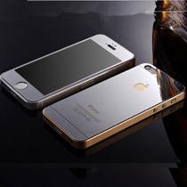 Mica Cristal Tempado Doble Iphone 4g 4s Colores Trasera Y De