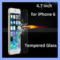 Cristal Templado Para Iphone 6 Tempered Glass Mica + Funda