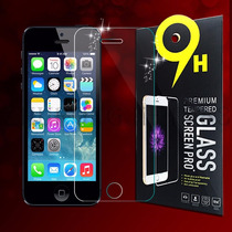 Mica Cristal Templado Iphone 5 5s 5c 9h Gorilla Glass