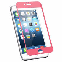 Protector De Pantalla Rosa Glass Iphone 6 4.7 No. 1- Mobo