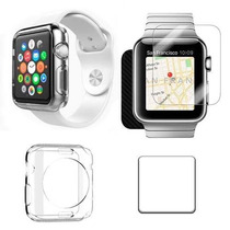 Cristal Templado Y Funda Full Body Apple Watch 9h 38 42mm
