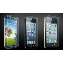 Lote Mixto 50 Micas Cristal Templado Iphone Samsung Lg Sony