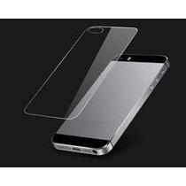Mica Trasera Cristal Templado Glass Iphone 5, 5s!