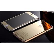 Micas De Cristal Templado Iphone 6 Frontal Y Trasera Espejo!