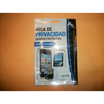 Promo Mica De Pantalla Privacidad Lg L5x Optimus!!!