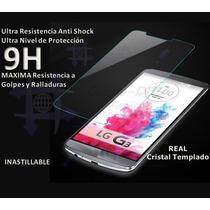 Mica Cristal Templado Lg G3 Sony Z1 Anti Balas Contra Agua