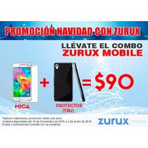 Combo Mica Protectora + Tpu Motorola Varios Modelo Y Colore