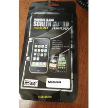 Motorola Xt320 2 Micas Transparente + 2 Paños Oferta