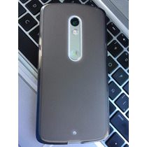 Case Funda Tpu + Cristal Templado 9h Moto X Play Ent Persona