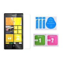 Cristal Templado 0.3mm Orilla 2.5d Nokia Lumia 520 + Paños