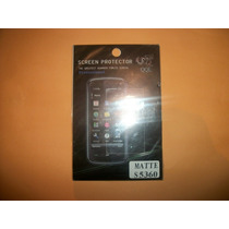 Promo Mica De Pantalla Antihuella Samsung S5360 Galaxy Young