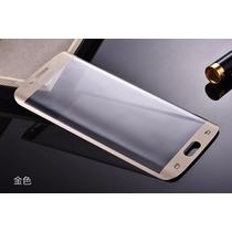 Mica Galaxy S6 Edge Curvo Curved Cristal Protector Pantalla