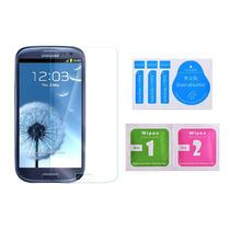 Cristal Templado 0.3mm Orilla 2.5d Samsung Galaxy S3 + Paños
