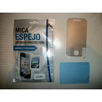 Wwow Mica De Pantalla Tipo Espejo Samsung Galaxy Young S5360