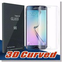 Protector Cristal Templado Galaxy S7 Edge Curvo .26m Mica