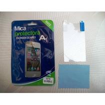 Wwow Mica Matte Antihuella Para Sony C1505 Xperia E!!!