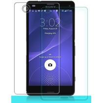Sony Xperia Z3 Mica Cristal Templado 9h Protector Cubierta