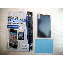 Wwow Mica De Privacidad Sony Xperia E C1505 Excelentes!!
