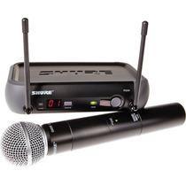 Shure Pgx24/sm58 Dj Karaoke Microfono Inalambrico Sm58