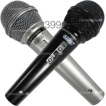 Set Juego De 2 Microfonos Profesionales Unidireccionales