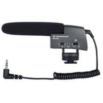 Microfono Shotgun Sennheiser Mke 400 C/ Shockmount Nuevo Vbf