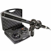 Kit De Micrófono Shotgun Para Videocámaras Y Dslrs Xm-88