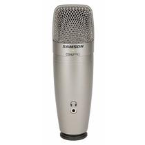 Microfono Samson C01u Pro Usb- Envio Gratis!