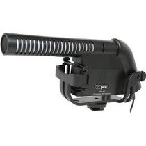 Micrófono Condensador Shotgun Para Video Y Dslr Xm-40