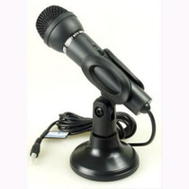 Microfono Studio Karaoke Estereo 3.5 Mm., Para Pc, Laptop,
