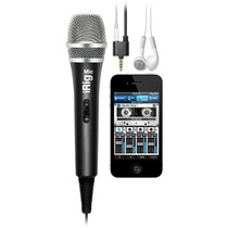 Irig Mic Microfono De Condensador Para Ios Y Android!