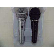 Juego De 2 Microfonos Unidireccionales Alambricos