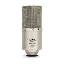 Micrófono Condensador Mxl 990 Stereo