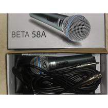 Microfono Dinamico Para Voz Rider Beta 58a Nuevo