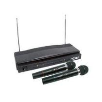 Sistema Profesional De 2 Microfonos Inalambricos Hasta 50 M