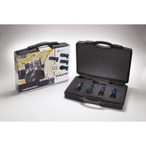 Audiotechnica Mbdk4 Pack 4 Micros Bateria Percusiones
