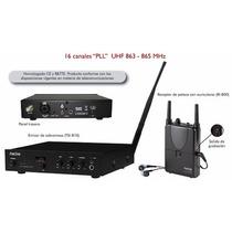 Sistema De Monitoreo Personal Uhf Fonestar Tsri-801