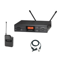 Sistema Inalambrico Uhf De Solapa Audio-technica
