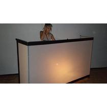 Cabina Para Dj , Booth Dj , De Aluminio Desarmable ,exelente