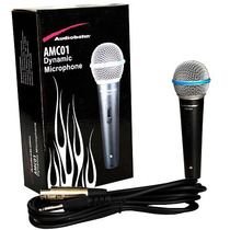 Microfono Dynamico Profesional Audiobahn Amc01