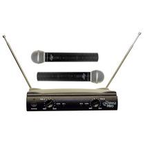 Sistema De 2 Microfonos Inalámbrico Pyle Pdwm2500