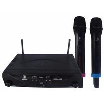 Microfonos Profesionales Inalambricos Recargables Kmu-25