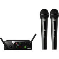 Akg Wms40 Mini Dual Vocal Set. 2 Microfonos Inalambricos