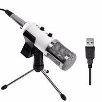 Micrófono Condensador Con Soporte De Grabacion Blakhelmet Sp
