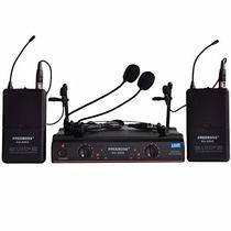 Sistema De Microfono Inalambrico Para Dj Karaoke