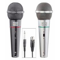 Kit Microfonos Profesionales Alambricos Mitzu Desmontables