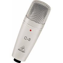 Behringer C-3 Micrófono De Condensador Para Grabación