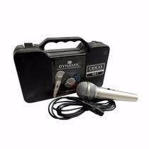 Microfono Profesional Alambrico Dinamico Con Estuche