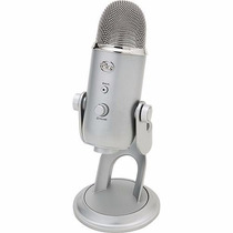 Yeti Microfono Profesional Usb Multi Plata Negro Platinum