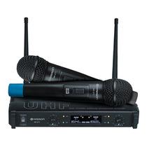 Radson Mr 271 Microfonos Inalambricos Dobles Uhf