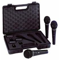 Microfono Behringer Profesional 3pack + Estuche Envio Gratis